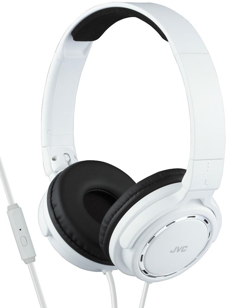 JVC HA-SR525-W - накладные наушники с микрофоном (White)