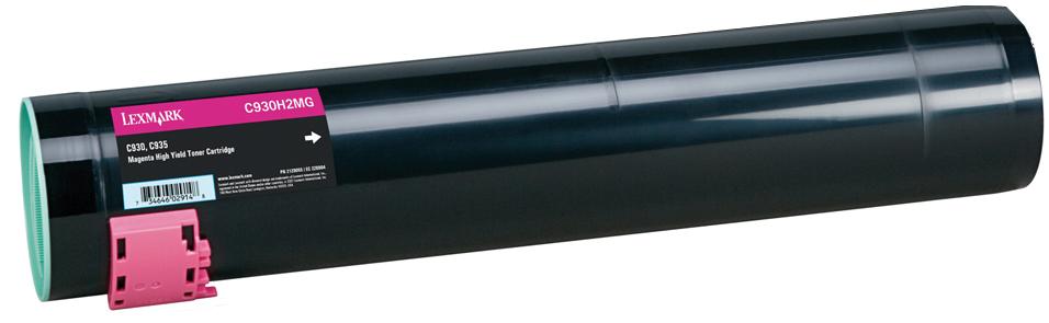 Lexmark 24K C930H2MG - картридж для принтеров Lexmark C935 (Magenta)
