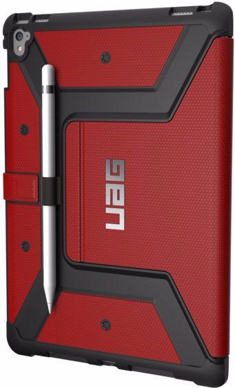 Чехол-книжка Urban Armor Gear Metropolis Rugged для iPad Pro 9.7 (Magma)