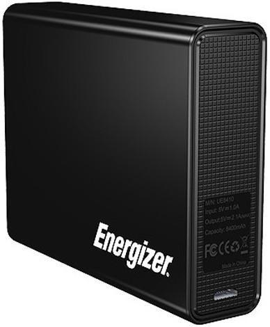 Внешний аккумулятор Energizer UE8410 (Black) 8400mAh
