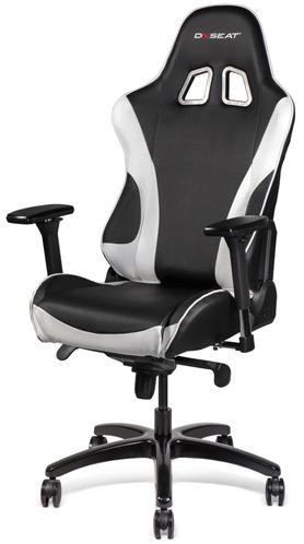 DXseat T05/XW - компьютерное кресло (Black/White)
