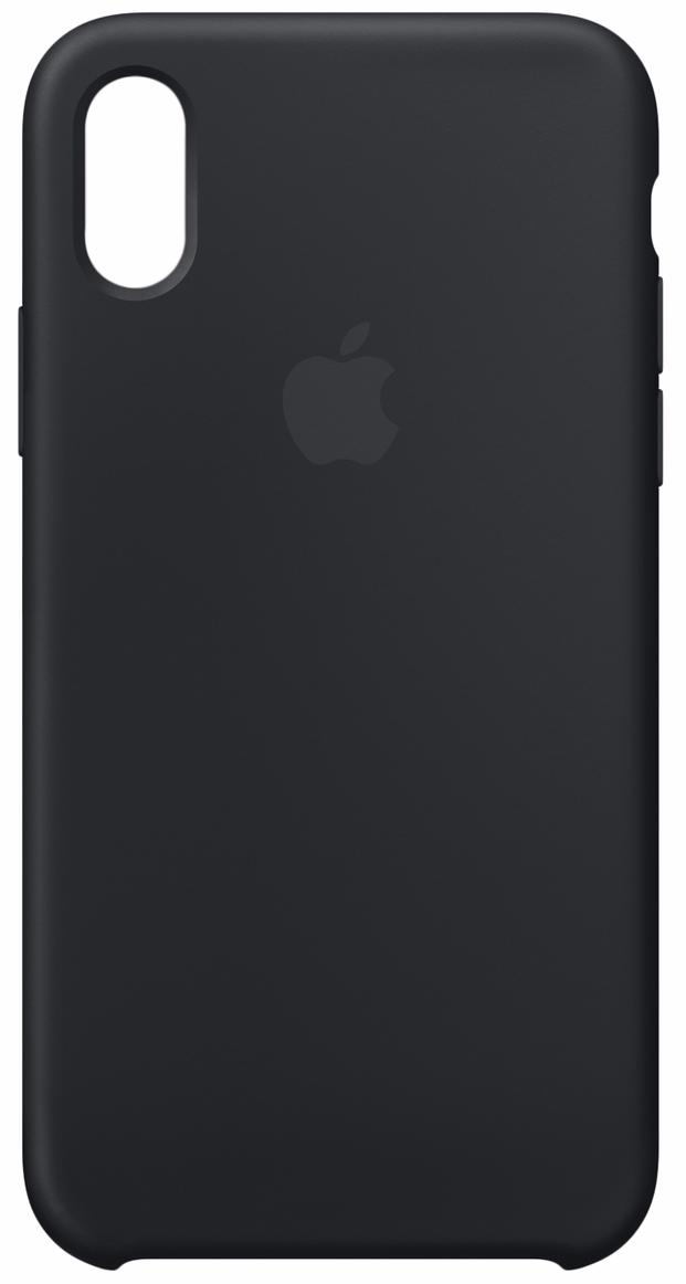 Чехол Apple Silicone Case для iPhone X MQGP2ZM/A (Black)