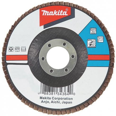 Подробнее о Makita Z40 (D-27682) - диск шлифовальный лепестковый диск шлифовальный лепестковый