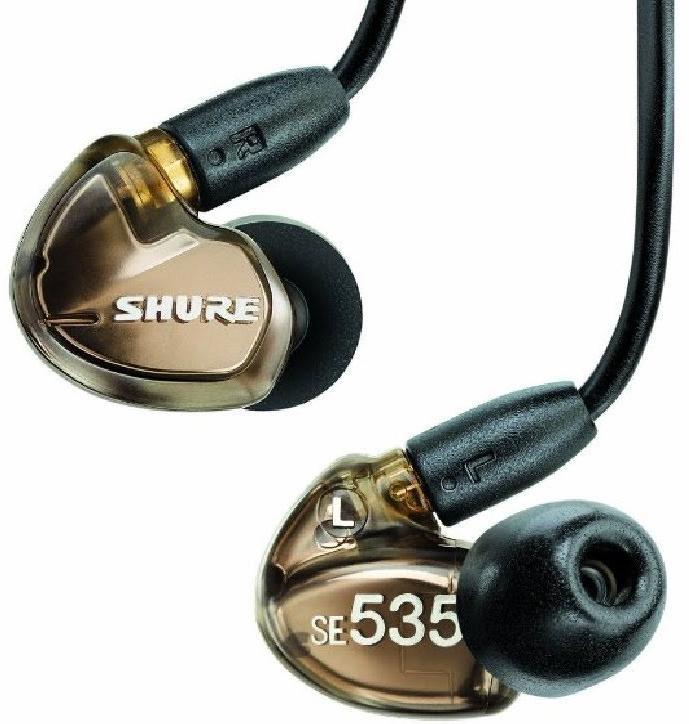 Shure SE535-V-E (A030028) - внутриканальные наушники (Metallic Bronze)Внутриканальные наушники<br>Внутриканальные наушники<br>