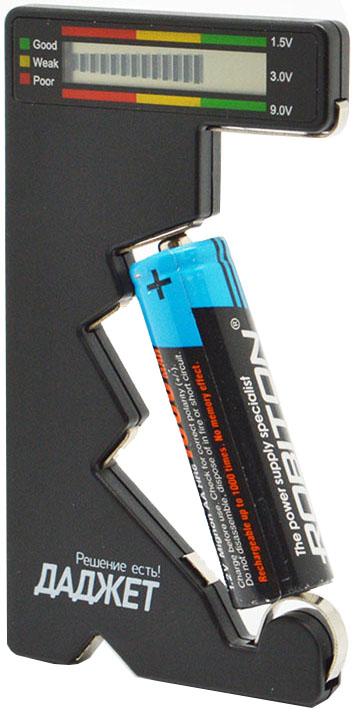 Даджет BatChecker (MT4015) - тестер батареек (Black)