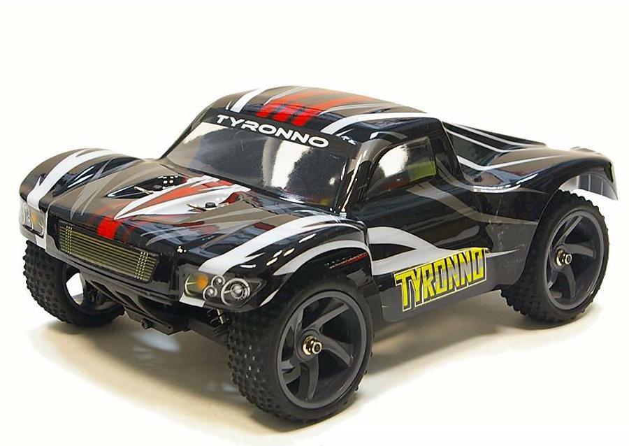 Himoto Tyronno Brushless 1:18 - радиоуправляемый автомобиль (Black)
