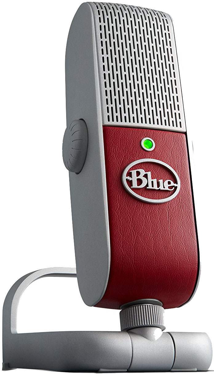 Blue Microphones Raspberry - мобильный USB-микрофон (Red)