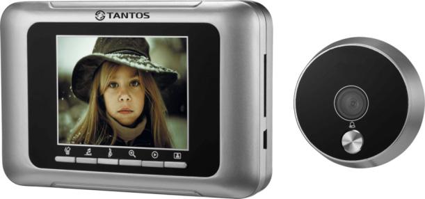 Tantos T-800 - дверной видеоглазок (Silver)