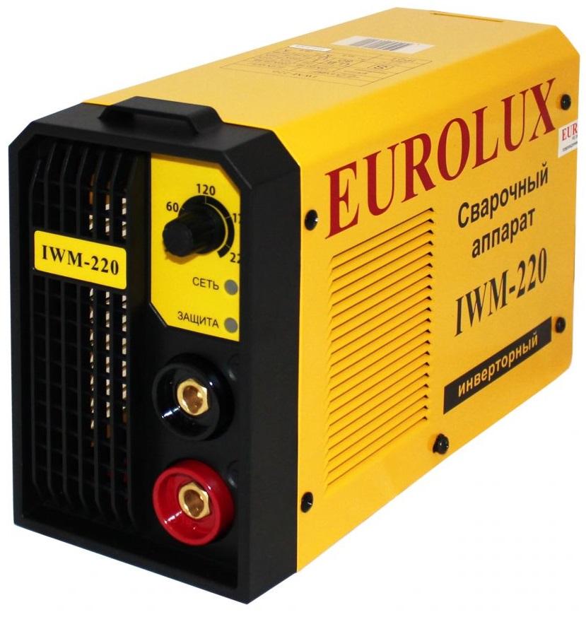 Eurolux IWM220 (65/28) - инверторный сварочный аппарат