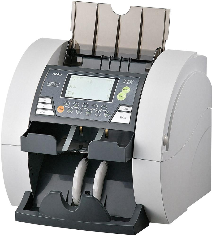 SBM SB-2000 Fitness USD/EUR/RUB - сортировщик банкнот (White)