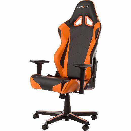 DXRacer OH/RZ0/NO - компьютерное кресло (Black/Orange)