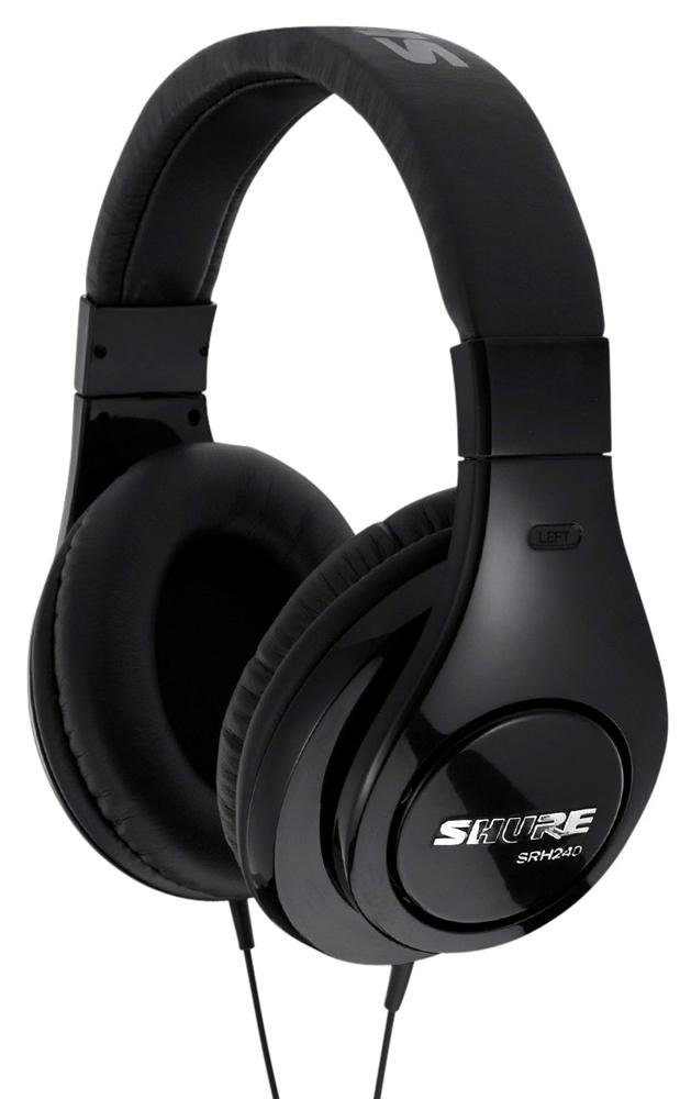 Shure SRH240 - профессиональные наушники (Black)