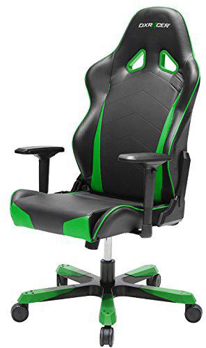 DXRacer OH/TS29/NE - компьютерное кресло (Black/Green)
