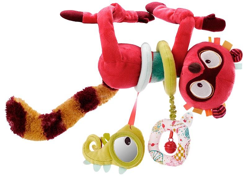 Lilliputiens Лемур Джордж: развивающая игрушка (86576)Развивающие игрушки<br>Развивающая игрушка<br>