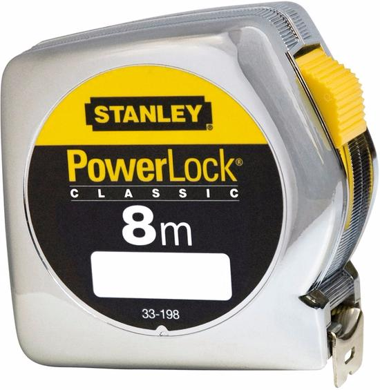 Stanley Powerlock 8m (0-33-198) - рулетка (Silver)