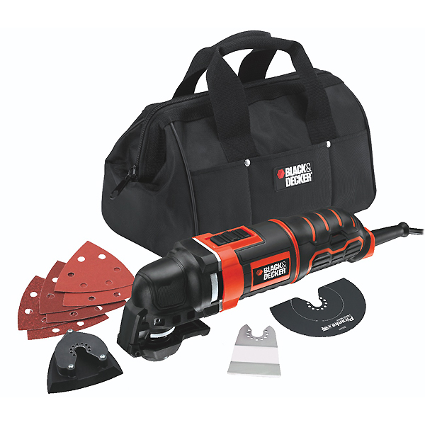 Black+Decker MT280BA - осциллирующий инструмент (Red/Black)