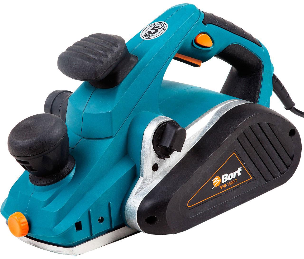 Bort BFB-1300-T (98298611) - электрический рубанок (Blue) от iCover
