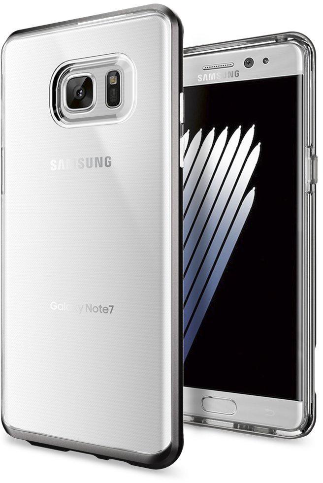 Spigen Neo Hybrid Crystal (562CS20565) - чехол для Samsung Galaxy Note 7 (Gunmetal)