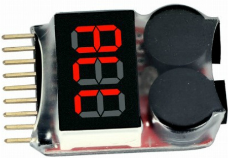 IMaxRC 1-8S LiPo Battery Voltage Tester - тестер Li-Po батарей