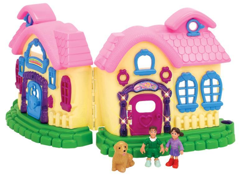 1TOY Мой маленький мир (Т52959) - игровой домик (Pink)