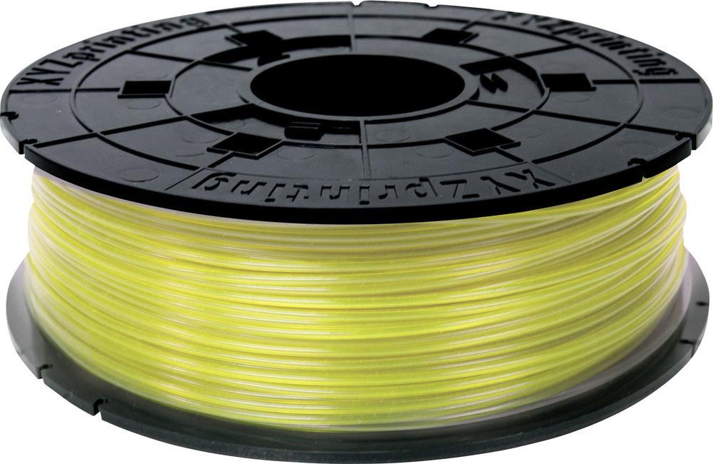 XYZ Printing PLA (RFPLCXEU03J) - пластиковая нить для 3D принтера XYZ da Vinci Junior (Clear Yellow)