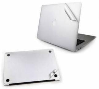 Защитная пленка на нижнюю и верхнюю часть Macbook Pro Retina 13 (Silver)