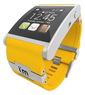 i'm Watch Smartwatch - умные часы (Yellow)