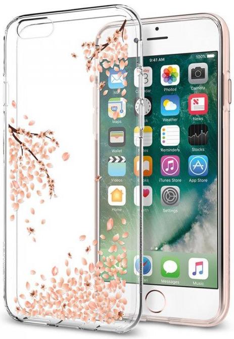 Чехол-накладка Spigen Liquid Crystal (035CS21219) для iPhone 6/6s (Shine Blossom)