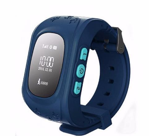 Кнопка жизни К911 - детские часы-телефон с GPS-геолокацией (Dark Blue) нд
