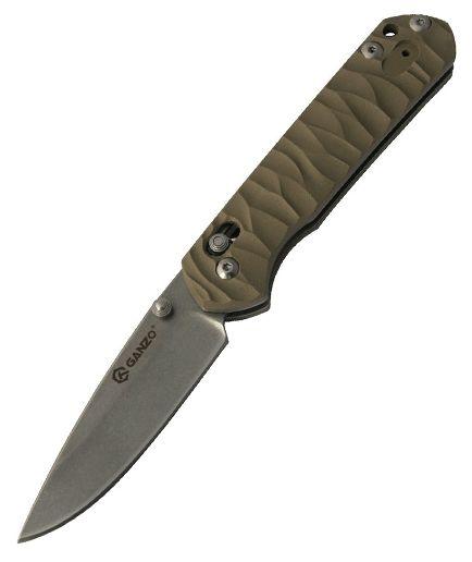 Ganzo G717 (G717Y) - складной нож (Yellow)