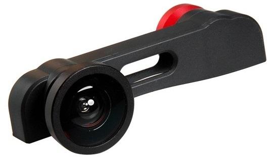 PHO-FWM-6 - объектив 3 в 1 для iPhone 6 Plus (Red)