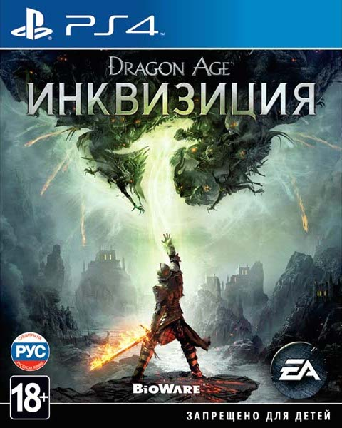Dragon Age: ИнквизицияИгры для PlayStation<br>Видеоигра<br>