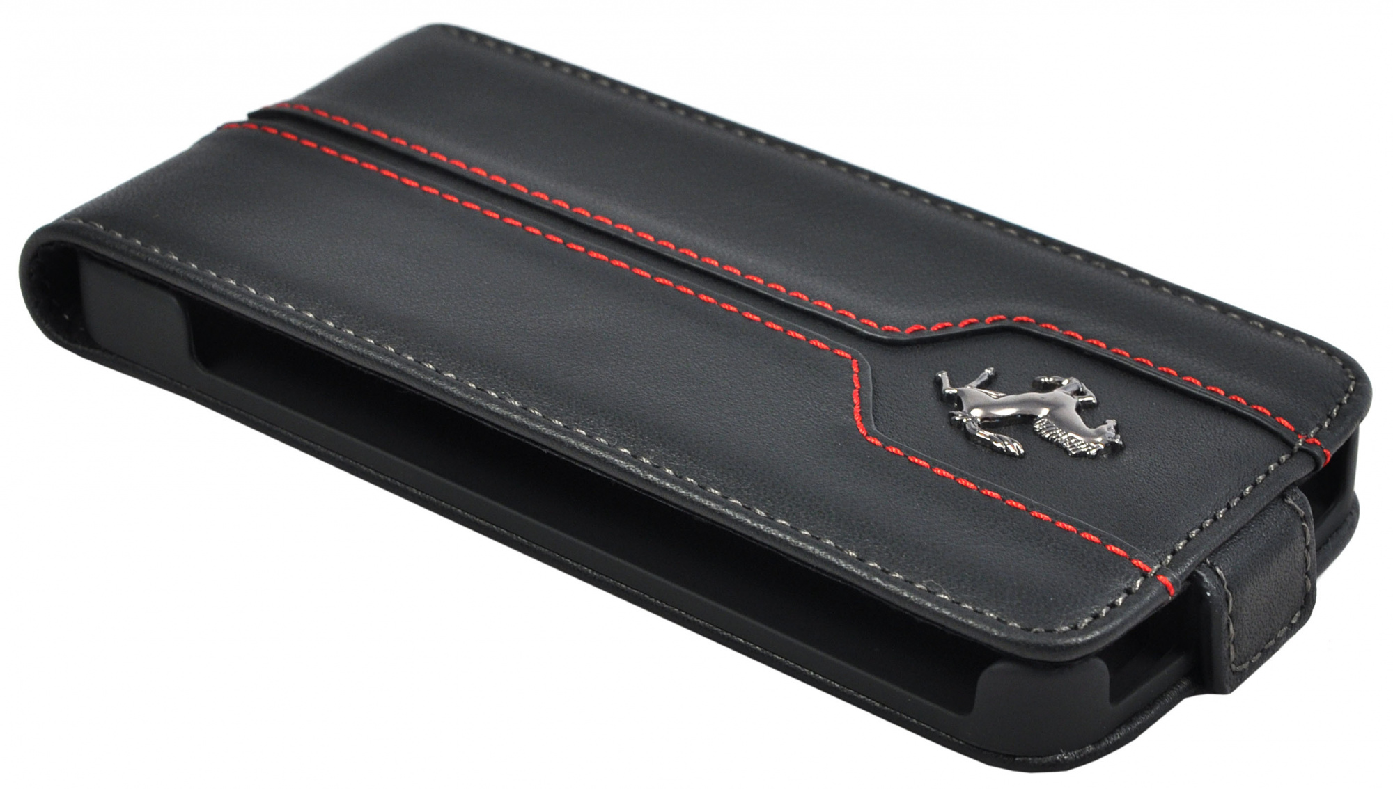 Ferrari Montecarlo Flip (FEMTFLP5BL) - чехол для iPhone 5/5S/SE (Black)