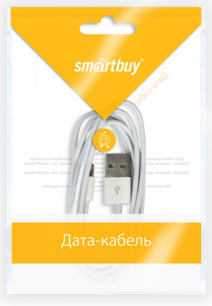 Smartbuy iK-512 1.2 m - кабель USB - 8-pin (White)