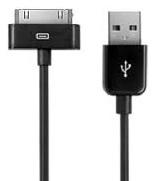 Connector USB Cable - кабель для зарядки и синхронизации iPhone/iPod/iPad (Black)