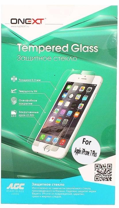 Защитное стекло Onext Tempered Glass (41377) для телефона Apple iPhone 8 Plus (Clear)