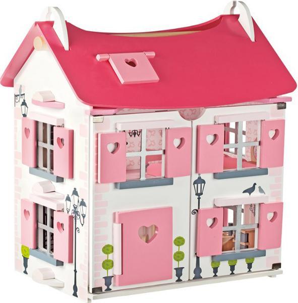 Janod  Мадмуазель (J05725) - кукольный домик (Pink) от iCover