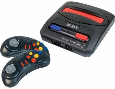 Sega Magistr Drive 2 Little - игровая приставка + 65 игр (Black) sega magistr drive 2 игровая приставка 65 игр