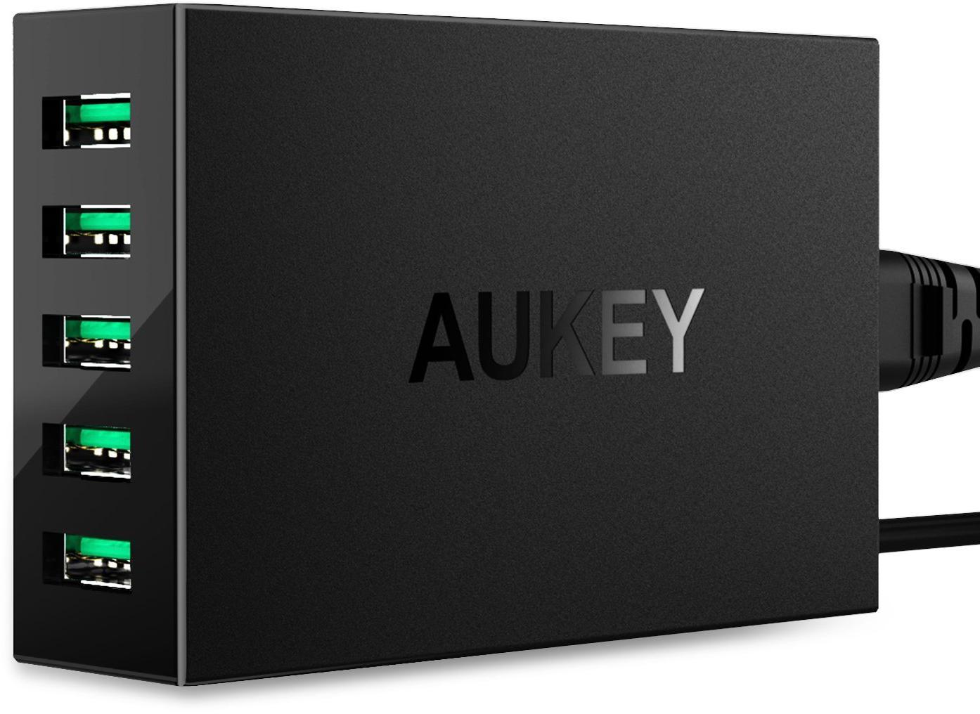 Aukey PA-U33 - сетевое зарядное устройство (Black)
