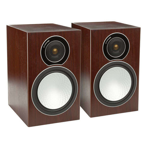 Monitor Audio Silver 1 (5060028970070) - полочная акустическая система (Walnut)
