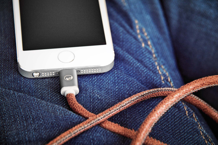 Кабель Plusus LifeStar MFI Lightning Cable 1m Fuzzy Mocha