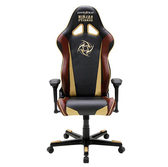 DXRacer OH/RF126/NCC/NIP - компьютерное кресло (Black/Brown)
