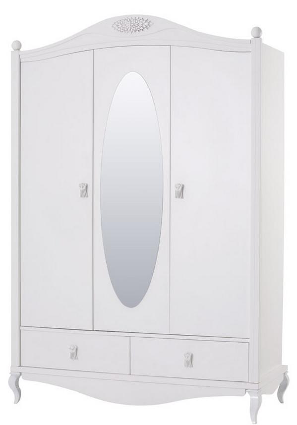 JasminТрехдверные шкафы<br>Шкаф 3-х дверный с зеркалом<br>
