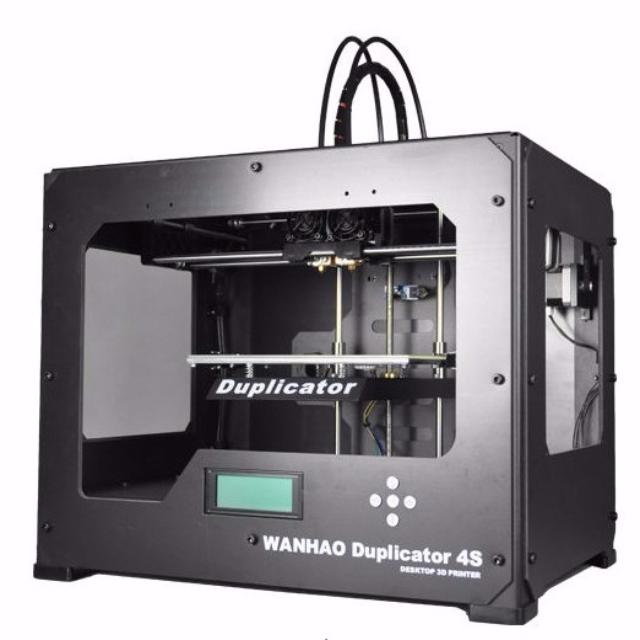 Wanhao Duplicator 4S Metal DH - 3D принтер (Black) 3d принтер