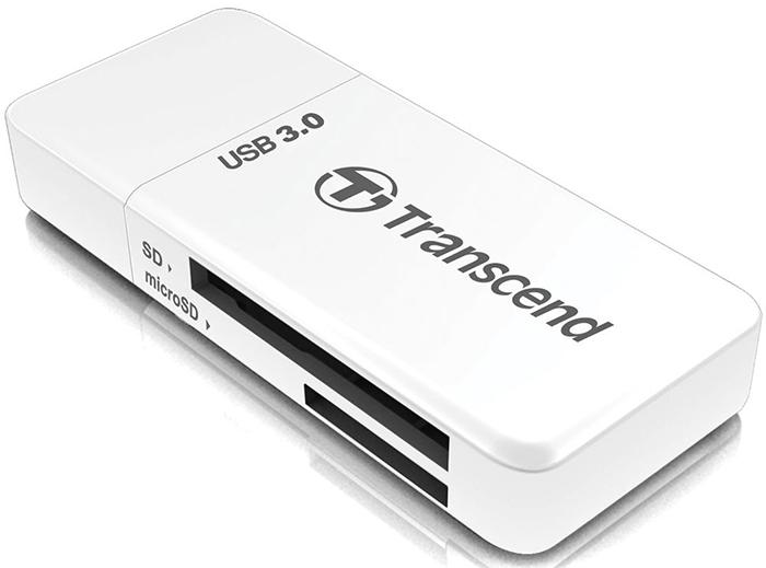 Transcend RDF5 (TS-RDF5W) - картридер (White)