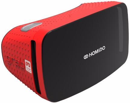 homido Очки виртуальной реальности Homido Grab (Red)