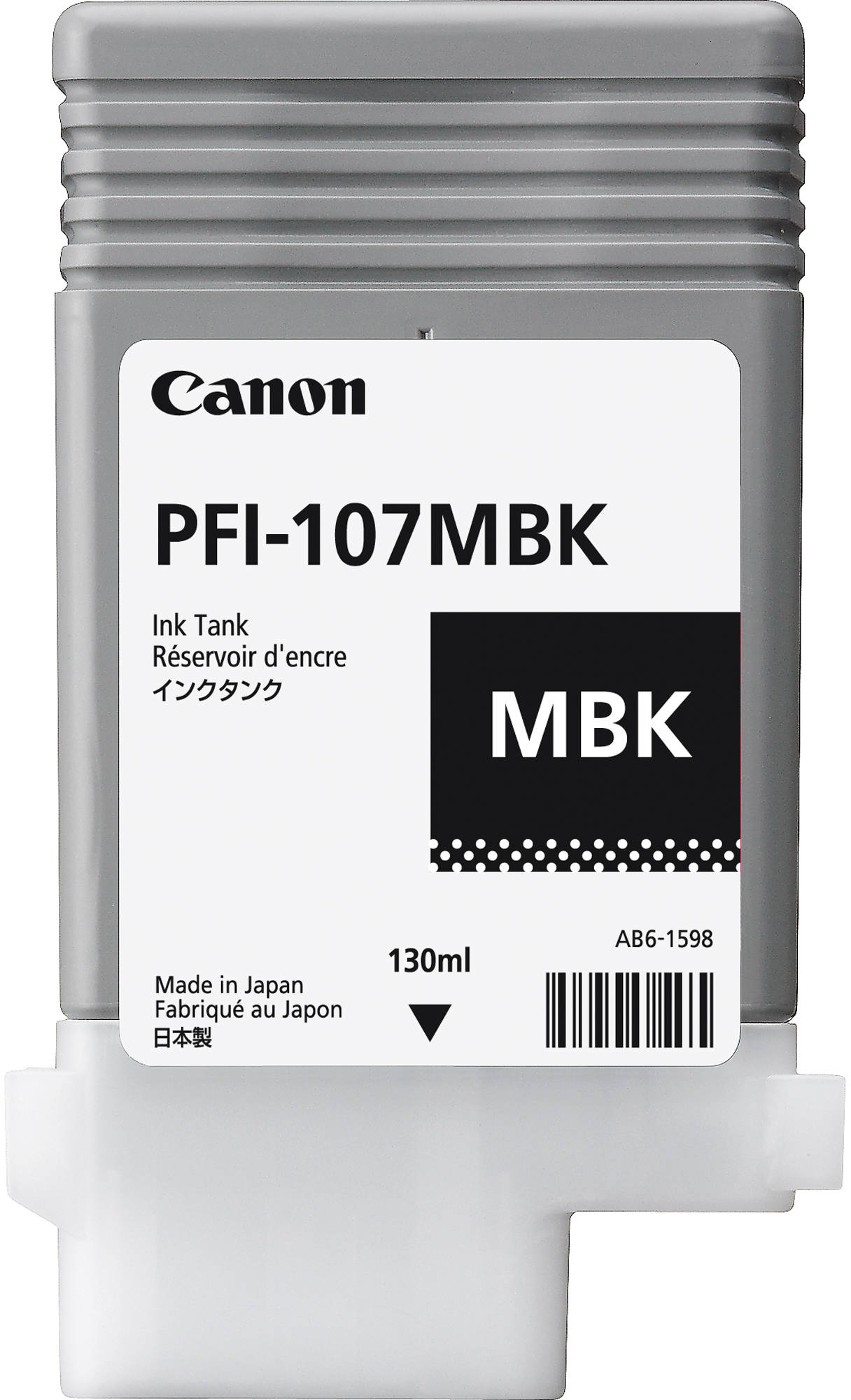 Canon PFI-107MBK (6704B001) - картридж для принтеров Canon iPF680/685/780/785 (Mate Black)