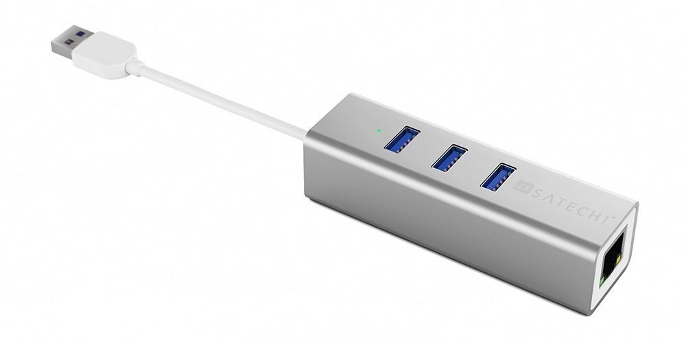 Satechi Hub+ Ethernet 3 Port B00QQV278U