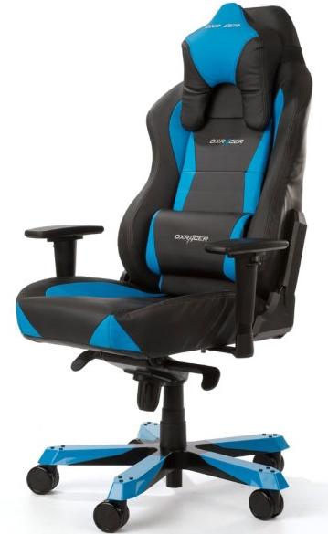DXRacer OH/WX0/NB - компьютерное кресло (Black/Blue)