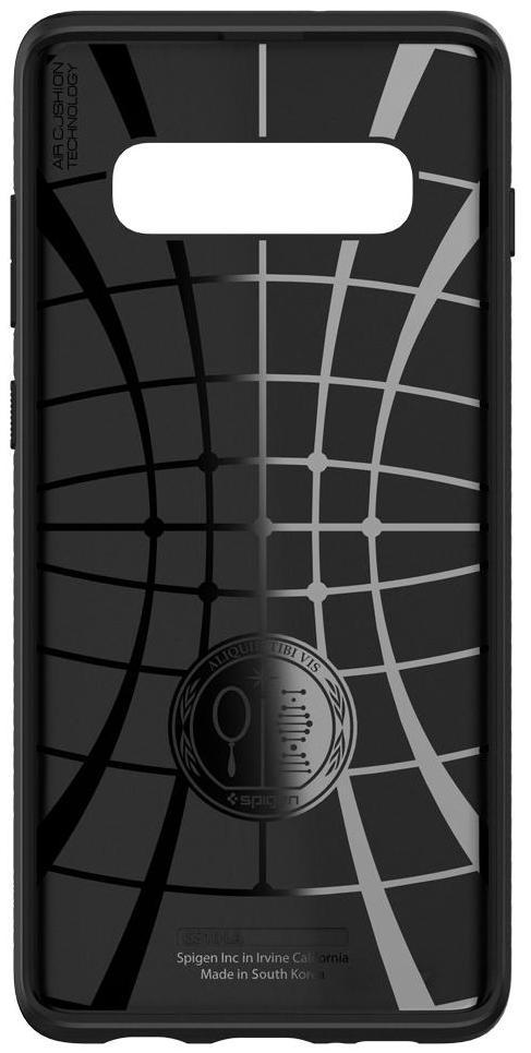 Чехол Spigen Liquid Air (605CS25799) для Samsung Galaxy S10 (Matte Black)